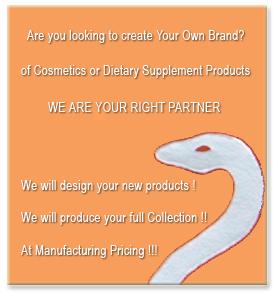 Private label cosmetics, Italian new brand private label